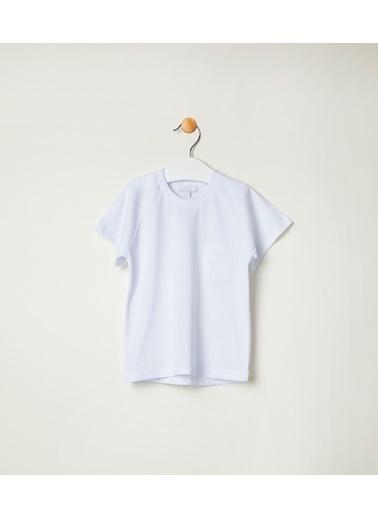 Pinolini Beyaz Basic Tişört Beyaz